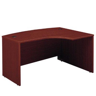 (Series C: Right L-Bow Desk Finish: Mahogany)