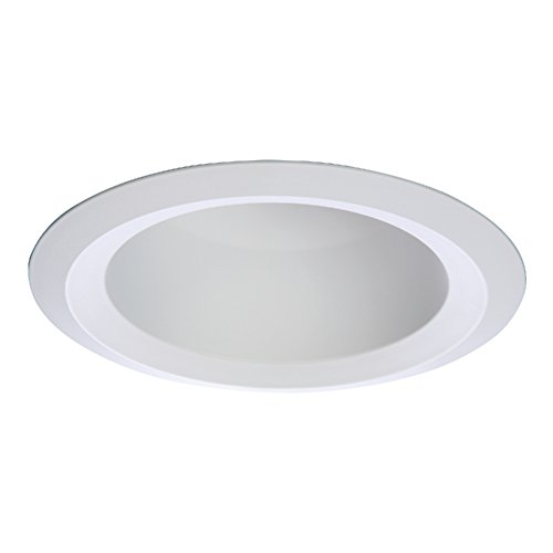 HALO 6120WH White Full Cone Reflector with White Recessed Trim, 6
