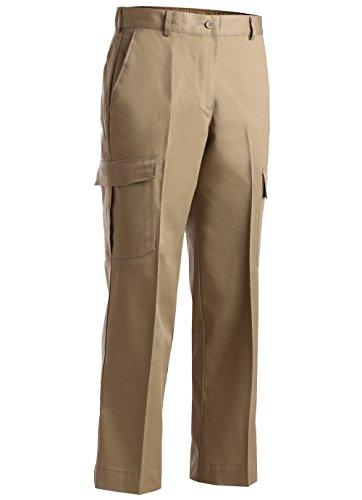- Edwards Ladies' Blended Chino Cargo Pant Tan 26W