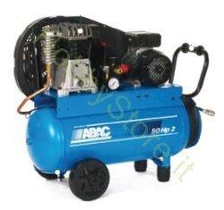 50 Litros Abac Compresor 2 Hp Bicilindrico Correa