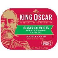 King Oscar 2 Lyr Srdns / Olv Oi - 12 Pack
