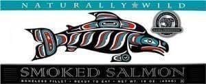 Alaska Smokehouse 16 oz Natural Smoked Salmon 2 Pack