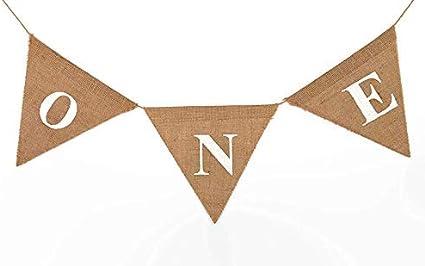 Highchair triangle banner