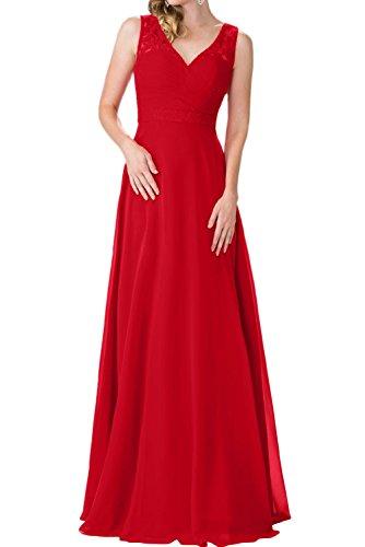 Traeger Etuikleider Lang Braut Ausschnitt Brautjungfernkleider Partykleider Rot Zwei Burgundy Marie V Abendkleider La xYqPw5vIf