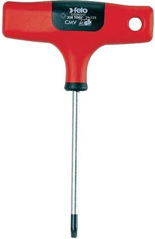 Felo 0715732318 T20 Torx T-handle, 8-Inch long, 308 Series by Felo
