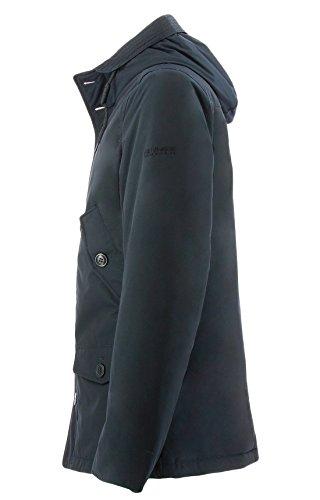 Parkadark Short Woolrich Giacca Termica Rich Penn Navy Ebony Uomo Blu afw5wqB