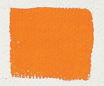 Sennelier Egg Tempera 21 ml Tube - Cadmium Yellow Orange