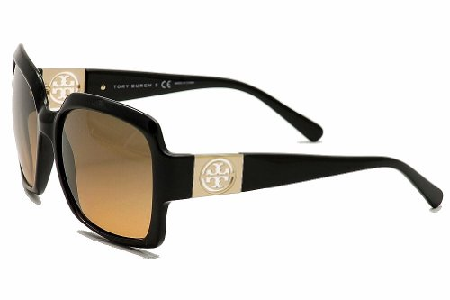 Tory Burch Women's TY9027 Black/Gray Orange Fade - Tory Burch Sunglass Hut