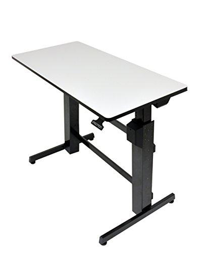 Ergotron WorkFit-D, Sit-Stand Desk (light grey)