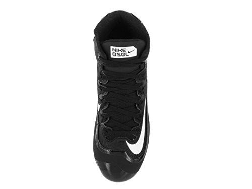 Nike Mens Huarache 2kfilth Pro Mid Tacchetta Da Baseball Nera / Bianca