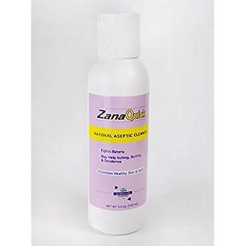 Zanaquick Aseptic Cleanser Antifungal Treatment - Anti fungal Nail Treatment - Antifungal Soap - Hongos en Uñas y Hongos en la piel