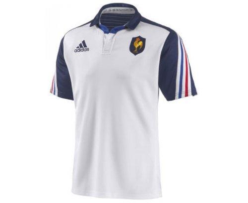 Adidas -Camiseta de rugby de la selección francesa, temporada 2013