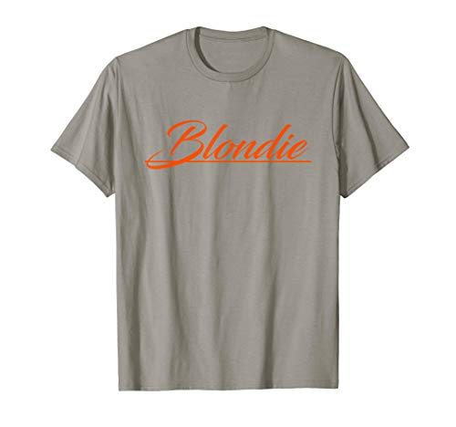 Blondie Parallel Lines Logo T-Shirt for Men, Women, 5 colors, S to 3XL