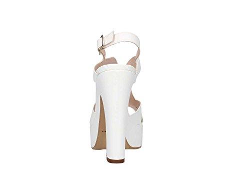 Martina B. - Sandalias de vestir para mujer Bianco