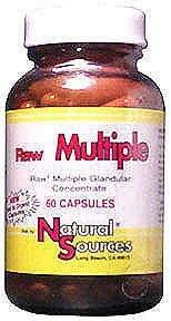 Sources naturelles - multiples 60 capsules premières,