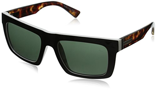 9fa860d20d Amazon.com  Von Zipper Donmega Wildlife Polarized Sunglasses-Black  Gloss-Vintage Grey  Clothing