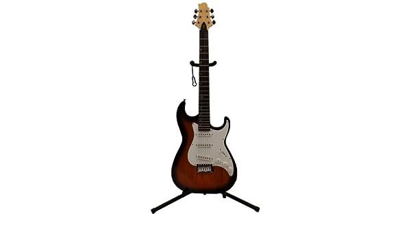 Greg Bennett Malibu 1 - Guitarra eléctrica para zurdos, color sunburst: Amazon.es: Instrumentos musicales