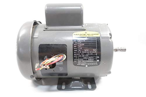 BALDOR L3500 AC Motor 56 1PH 1/4HP 1140RPM 115/230V-AC D649892 (1ph Ac Motor)