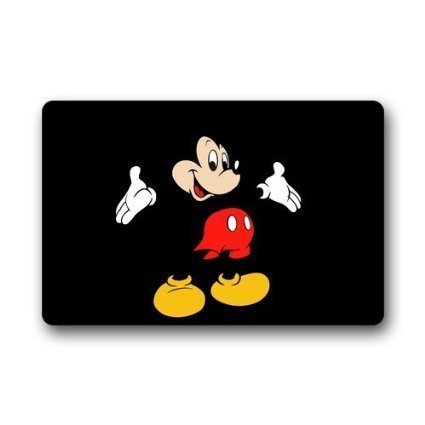 Custom Disney Cartoon Mickey Mouse Machine Washable Top Fabr