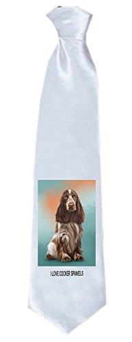 Cocker Spaniel Dog Neck Tie TIE48122