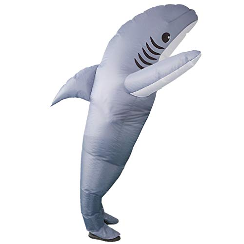 Shark Mascot Costumes - SIREN SUE Inflatable Shark Costumes for