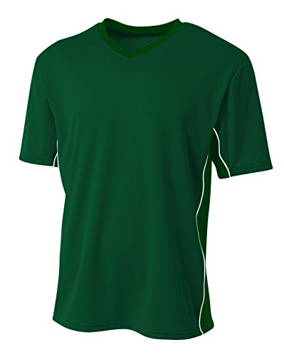 A4 Mens Liga Soccer Jersey, Medium, Forest