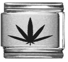 Leaf Single Herb (Herb Leaf Laser Italian Charm)