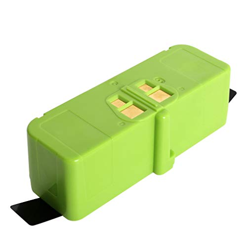 (Mr.Batt Lithium-ion Replacement Battery for Roomba 960 895 890 860 695 680 690 640 and 614 Robot Vacuums, 14.4V, 5200mAh)