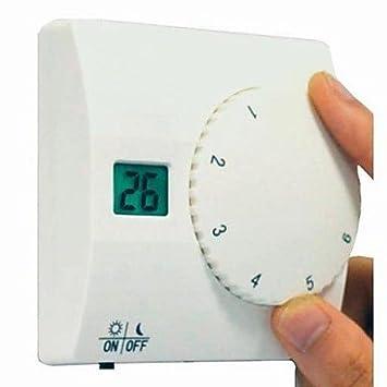 Wireless de LCD Digital de termostato para calefacción refrigeración eléctrico gas Agua Calefacción Y Agua Caliente