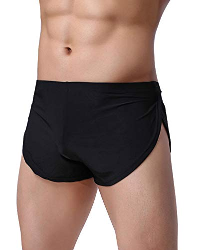 WINDAY Men's Boxer Underwear, Sexy Boxer Shorts Briefs Trunks Style Underpants 3 Packs