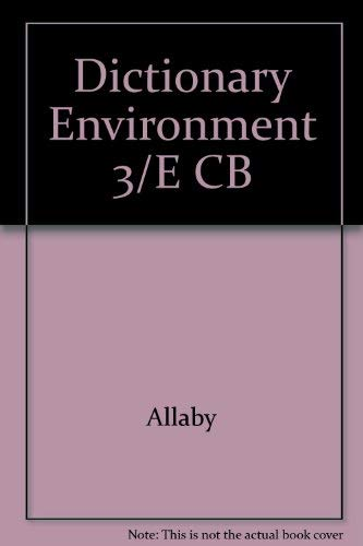 Dictionary Environment 3/E CB
