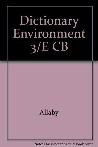 Dictionary Environment 3/E CB