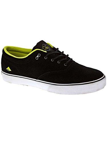 Emerica REYNOLDS CRUISER 6102000063 - Zapatillas de skate de ante para hombre negro/verde