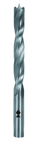 Fisch FSF-320814 High Speed Steel Double Flute Brad Point Drills Bit, 7-Piece ()