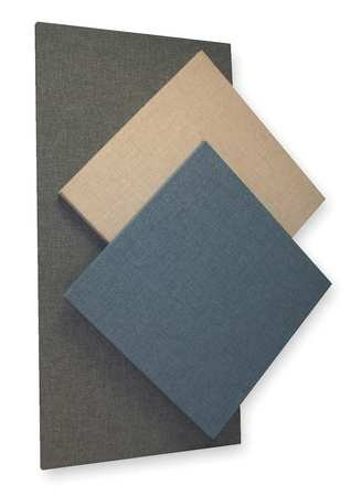 Acoustic Panel, Fabric, Blue, 8 sq. ft. by Sound Seal