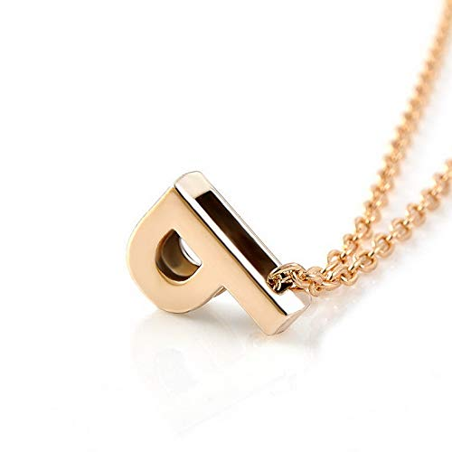 Hebel Fashion Womens Gold Plated Initial Alphabet Letter