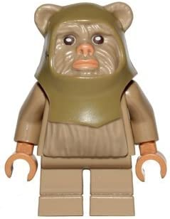 Lego Star Wars Ewok Warrior Minifigure 10236
