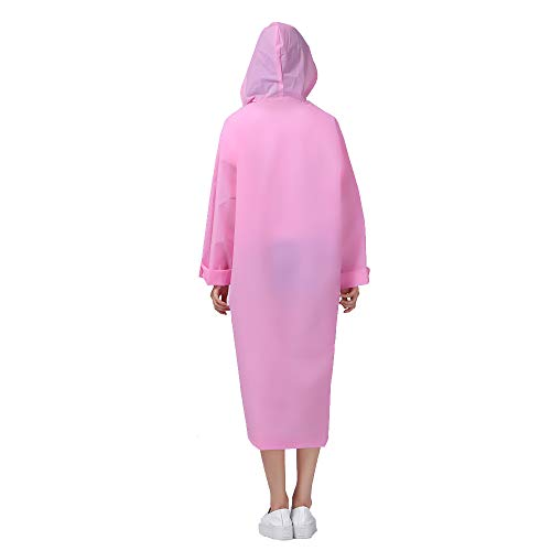 Donna Pink Manica Giacca Flying Impermeabile Lunga nqxSwA1FW