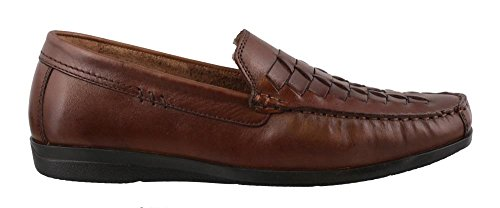 Dockers Men's Templeton Slip-on Loafer, Antique Brown, 8 M US