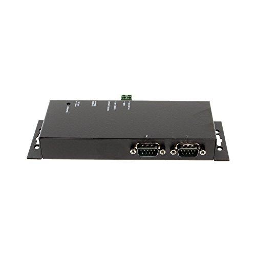 SerialGear 2-Port RS-232 to Ethernet Gateway by SERIALGEAR
