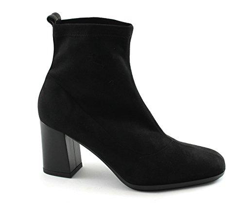GRUNLAND Tít PO1328 Botas de Mujer Zapatos de Color Negro con Cremallera Tobillo del Talón Nero