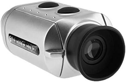 DSLINA Distancia Al Aire Libre Medidor De Bolsillo Telémetro/Digital 7X Telescopio Óptico Láser/Golf Range Finder/Golf Alcance Yardas Medida