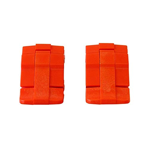 - 2 Orange Replacement latches for Pelican Cases.