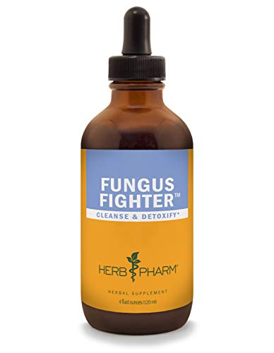 Ounce Herb 4 - Herb Pharm Fungus Fighter Liquid Herbal Formula for Cleansing and Detoxification - 4 Ounce