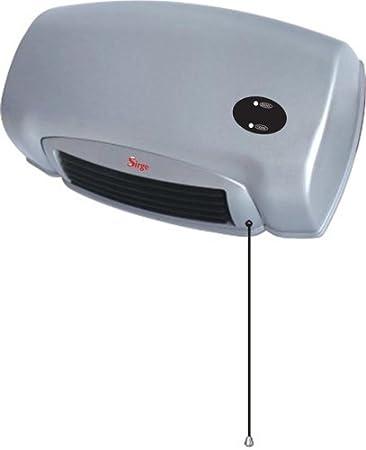 sirge caldocaldo stufa da bagno a parete 1300 watt basso consumo 650w650w