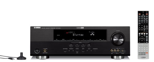 Yamaha HTR-6240BL 525-Watt 5-Channel Home Theater Receiver (Discontinued by (Htr Box)