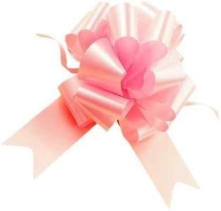 Genrico - Lote de 50 Lazos para bebé (31 mm, 3,1 cm), Color Rosa: Amazon.es: Hogar