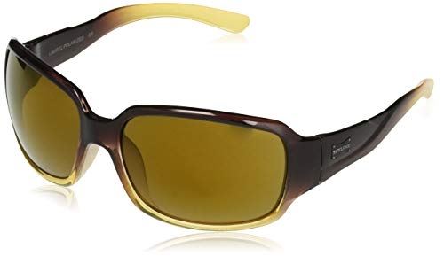 Mountain Laurel Shade - Suncloud Laurel Polarized Sunglasses, Brown Fade, Sienna Mirror