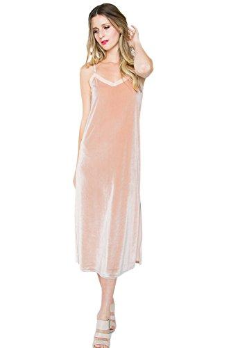 Sugar Lips Trista Velvet Maxi Dress - S