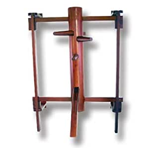 Wall-Mounted Wooden Dummy